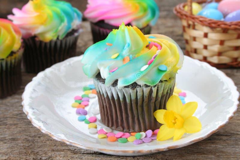 Party-Cup-Kuchen stockfotografie