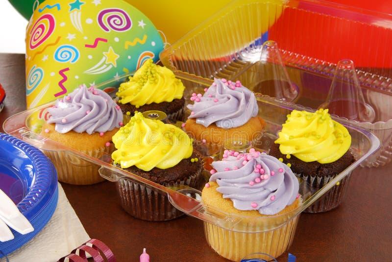 Party cupcakes royalty free stock photos