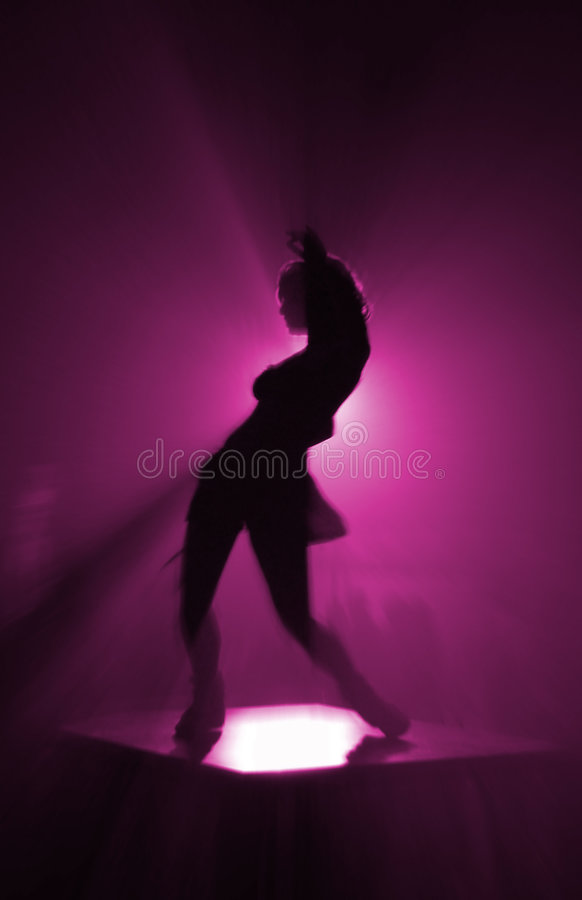 Party dancer stock image