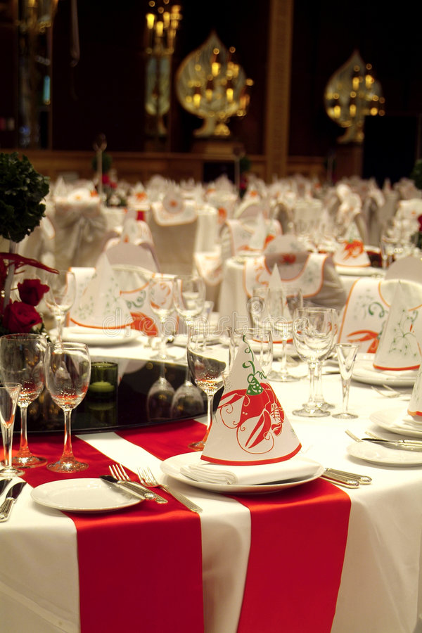 Download Party decorated tables stock image. Image of guest, party - 1415347