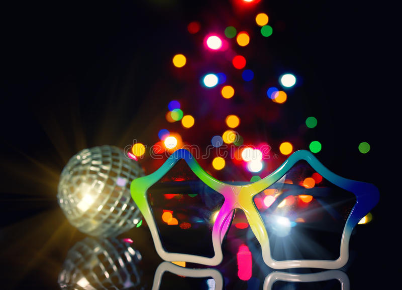 Party disco background stock images