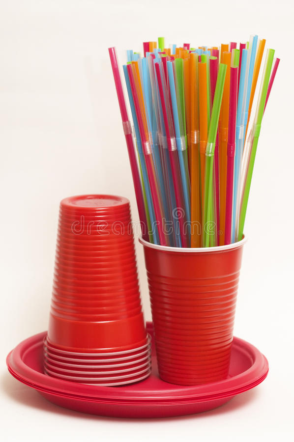 Free Party Disposable Tableware Set Stock Images - 11468154