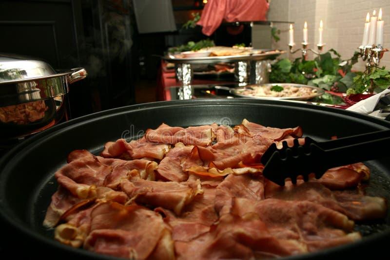 Party el alimento imagen de archivo