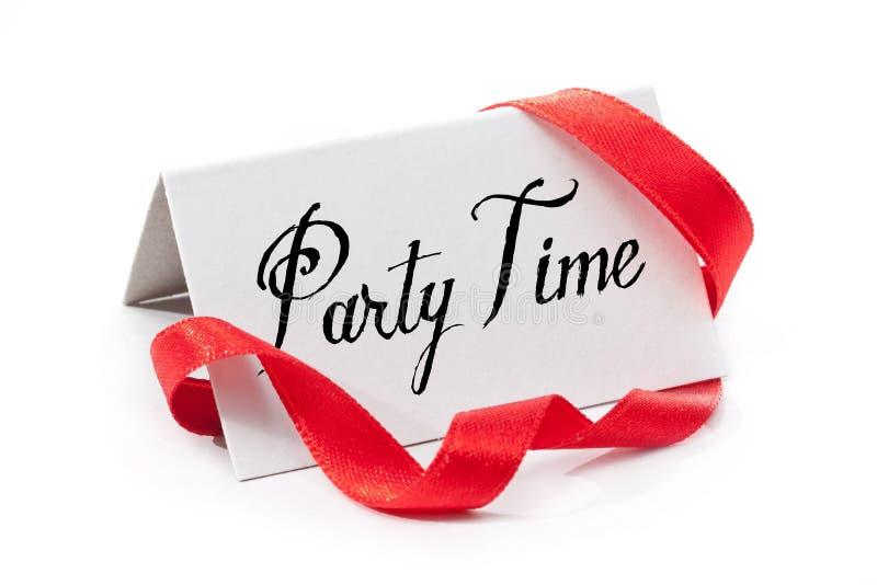 Party el tiempo fotos de archivo