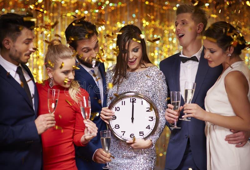 Party el tiempo imagen de archivo libre de regalías