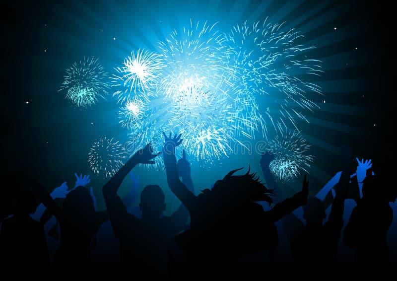 Party-Feiern! vektor abbildung