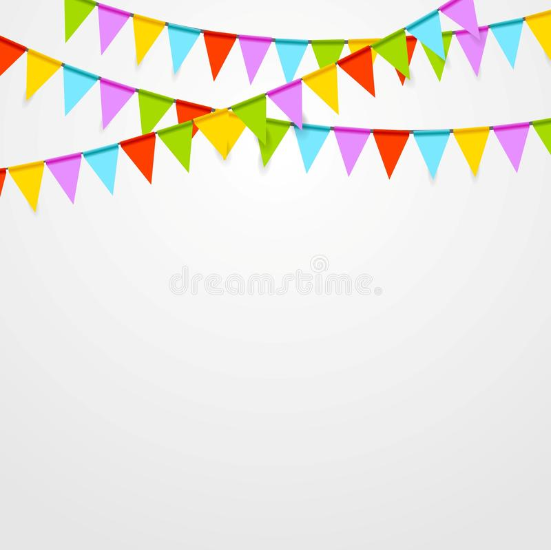 Free Party Flags Celebrate Bright Abstract Background Royalty Free Stock Photos - 54971298