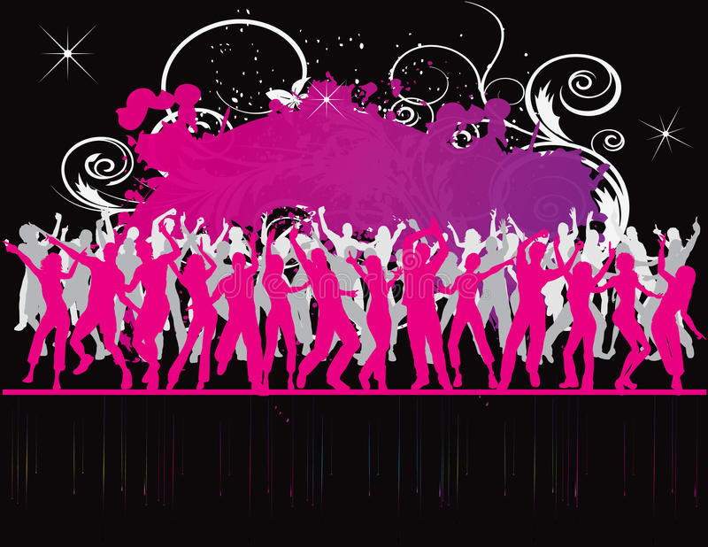 party flyer background