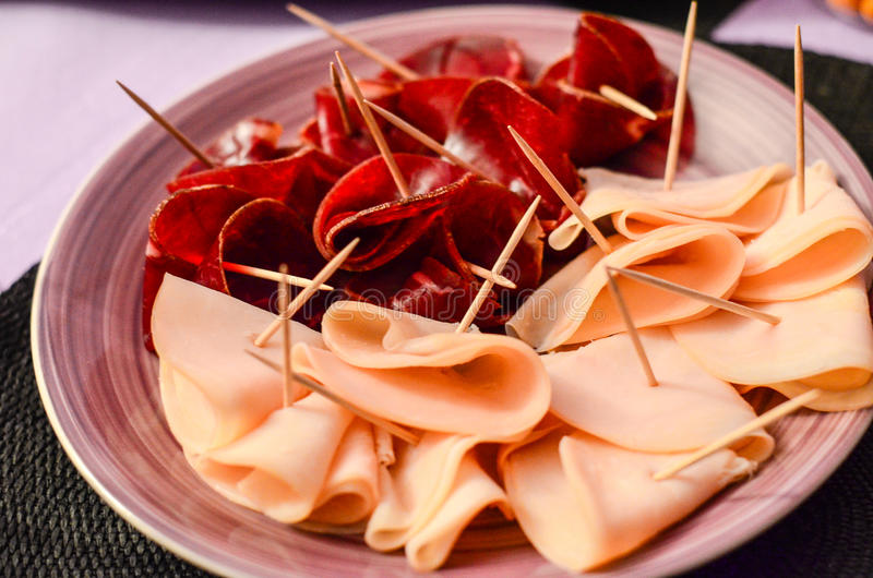 Party food royalty free stock images