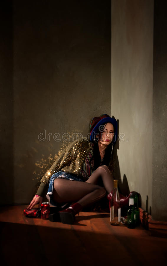 Party Girl stock photo