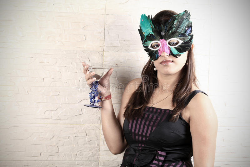 Download Party girl stock photo. Image of indian, holding, fashionable - 17646370