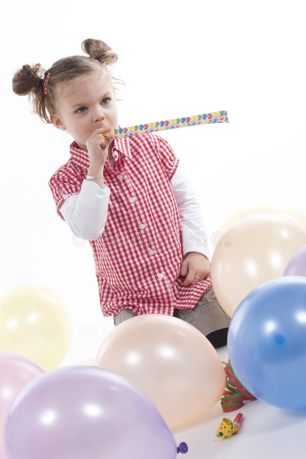 Party girl stock photos