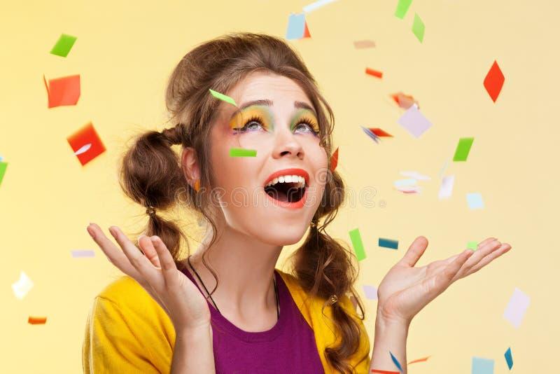 Party-Girl stockfoto