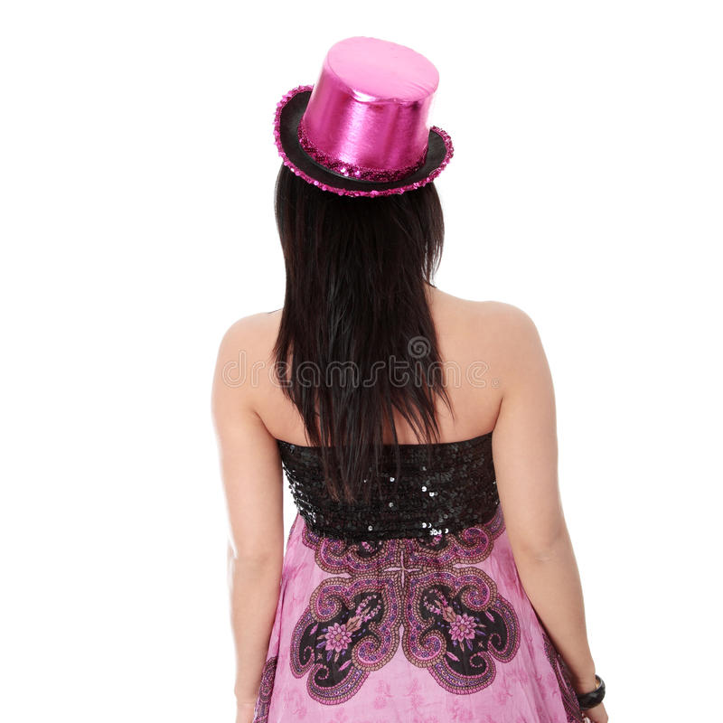 Download Party Girl In Evening Dress Stock Photo - Image: 17390450