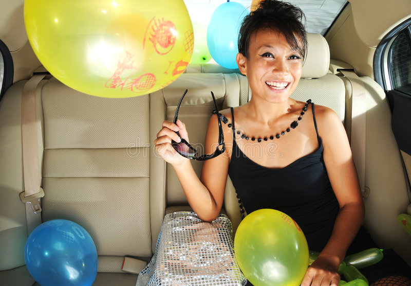 Download Party On The Go stock image. Image of black, balloon, makeup - 7112727