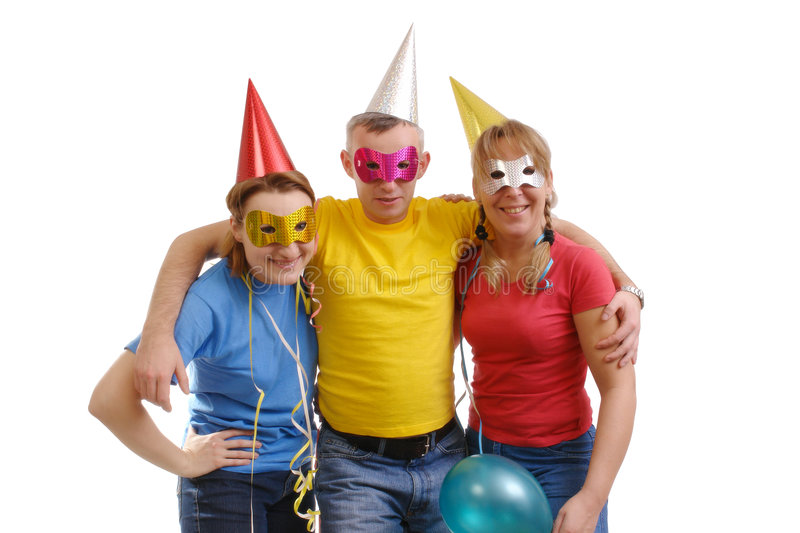 Party group stock photo