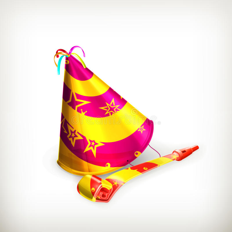 Download Party hat stock vector. Image of xmas, carnival, anniversary - 27589322
