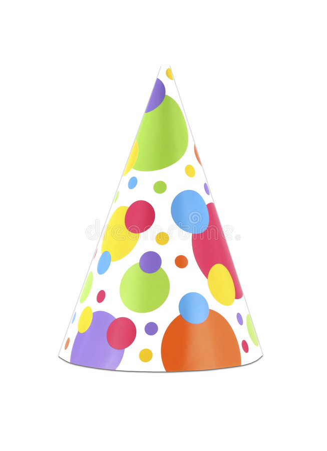 Party hat 9 stock photo