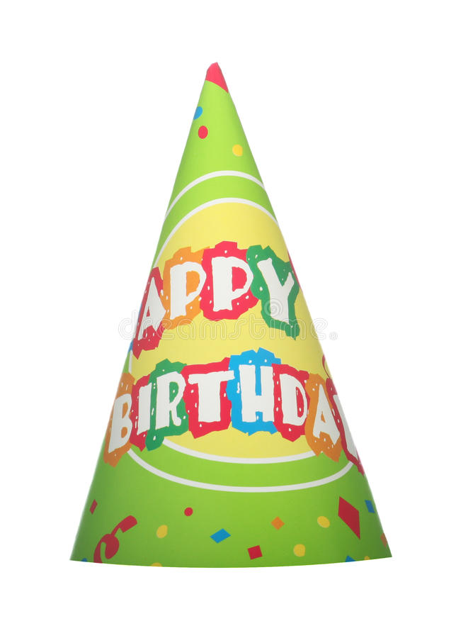 Download Party hat stock image. Image of single, cone, background - 9770893