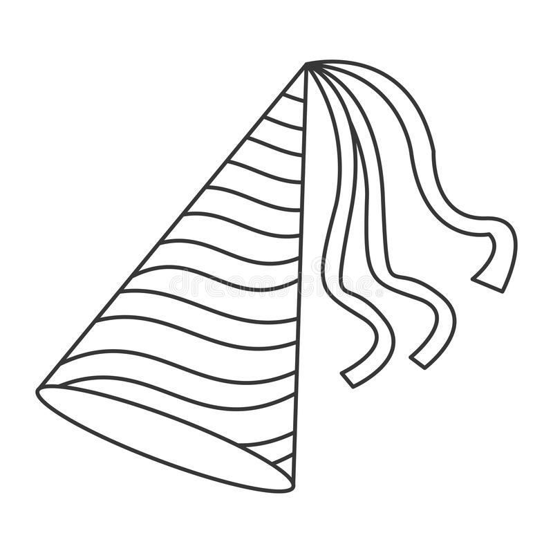 Party Hat Icon Stock Illustration Illustration Of Year 73463434