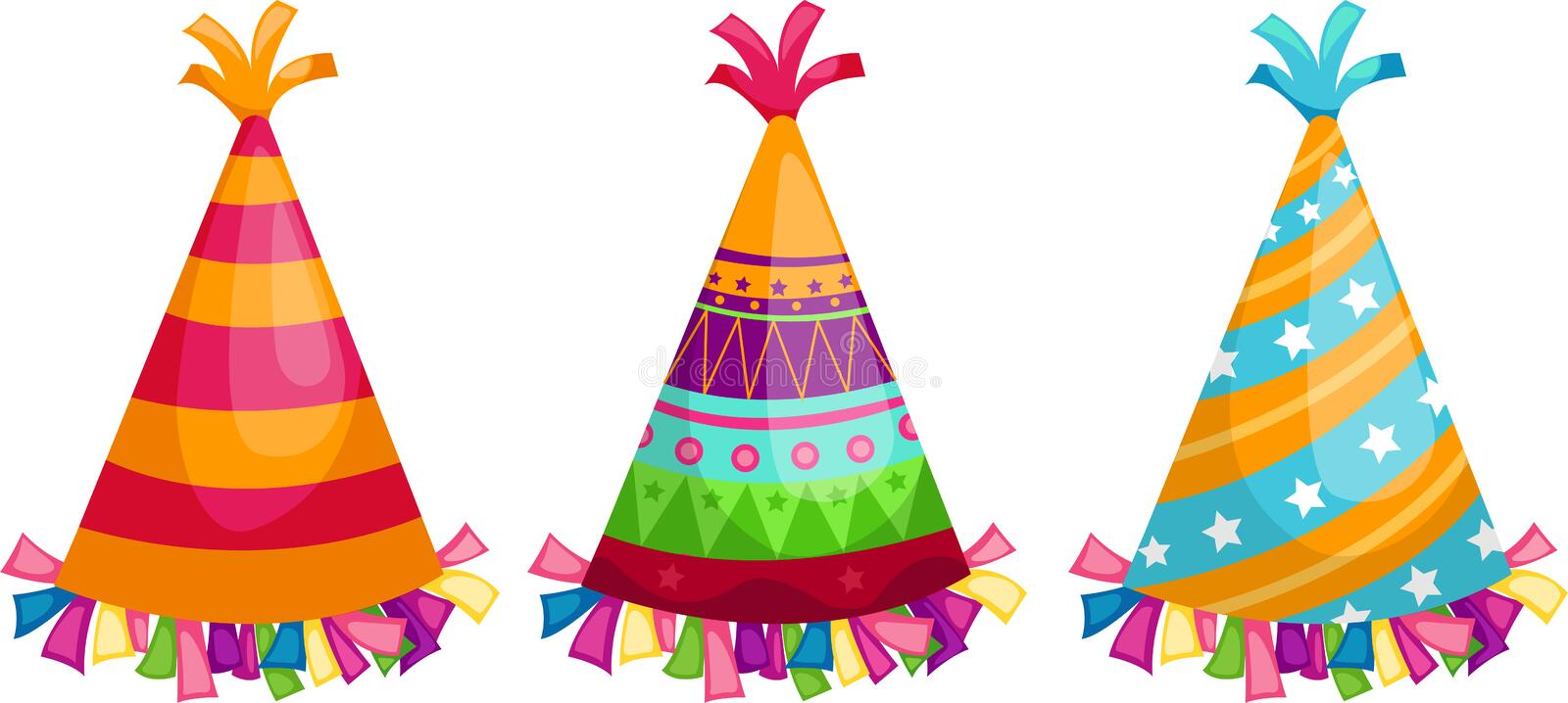 party hat vector stock vector illustration of celebrate 21596979 rh dreamstime com party hat vector template party hat vector template
