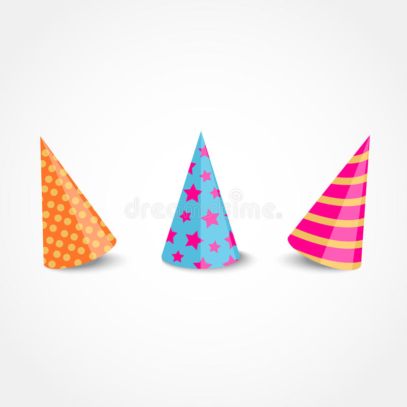 Party hat royalty free illustration