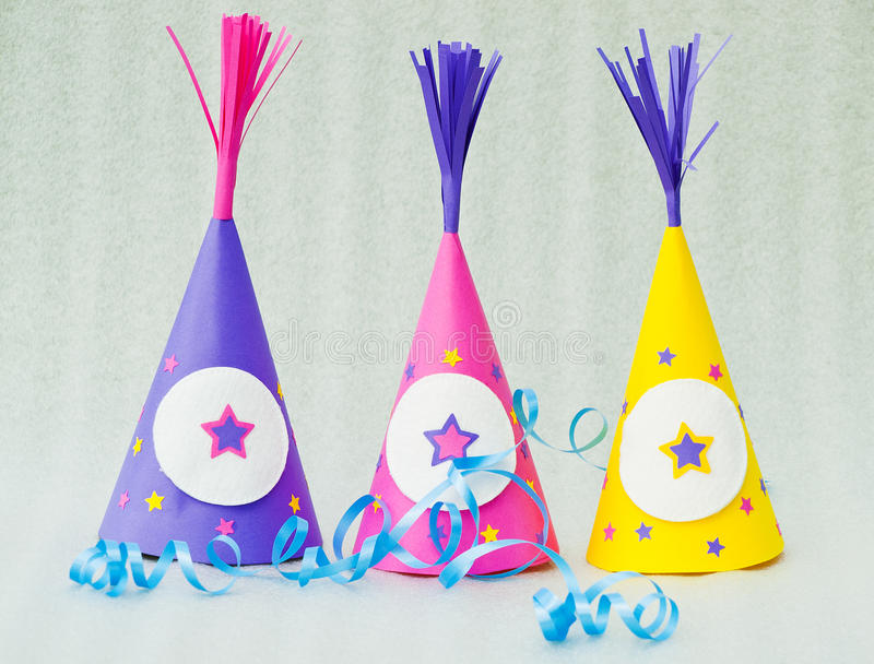 Party Hats Royalty Free Stock Image