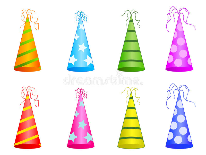 Party Hats Stock Photos