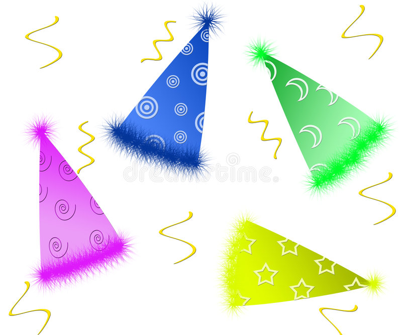 Party Hats royalty free stock photos