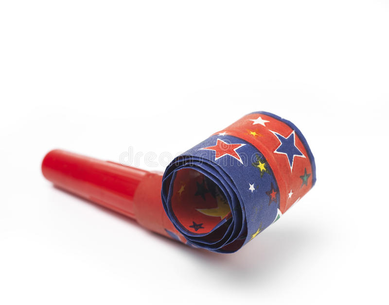 Party Blower: Party Horn Blower Stock Photo. Image Of Pattern, Party