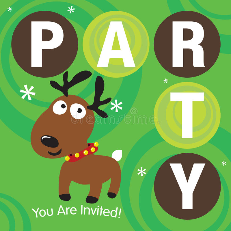 Party Invitation stock illustration