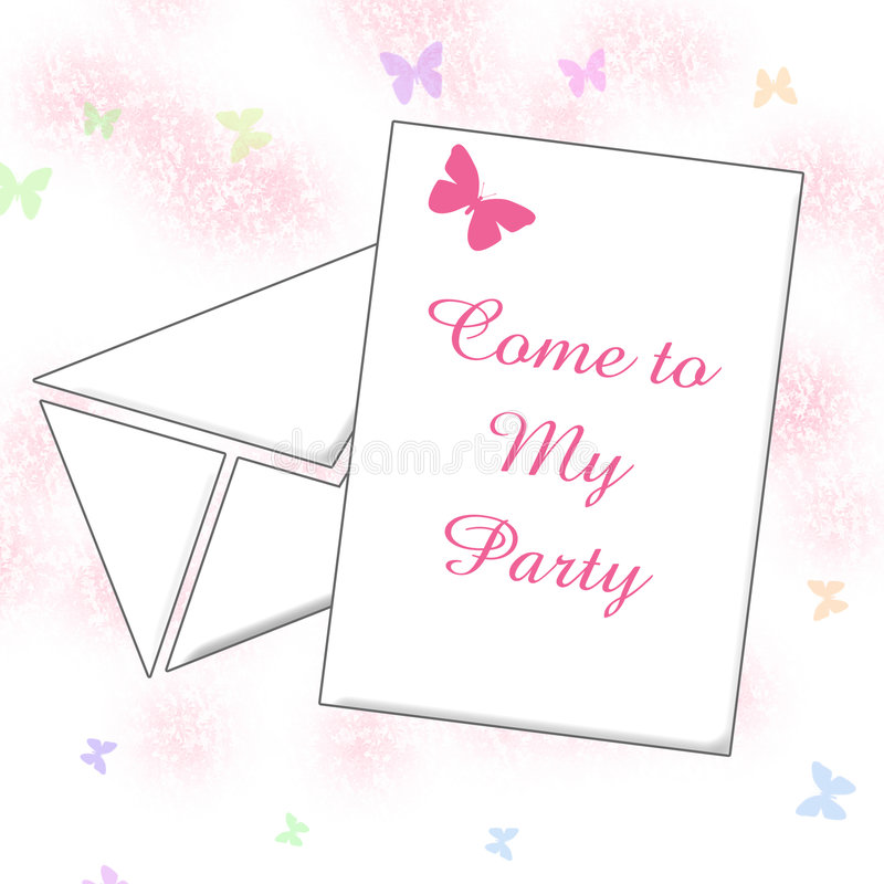 Download Party Invitation Art Stock Photography - Image: 1881422