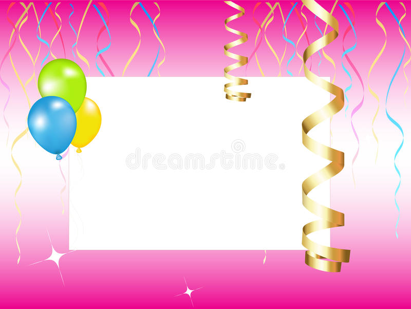 Party Invitation Stock Vector. Illustration Of Background