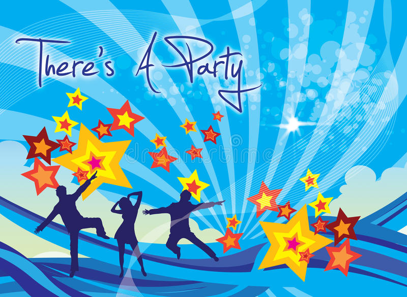 Party Invite Royalty Free Stock Image