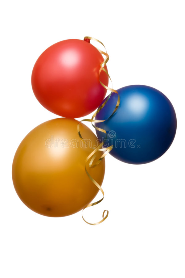 Party les ballons images stock