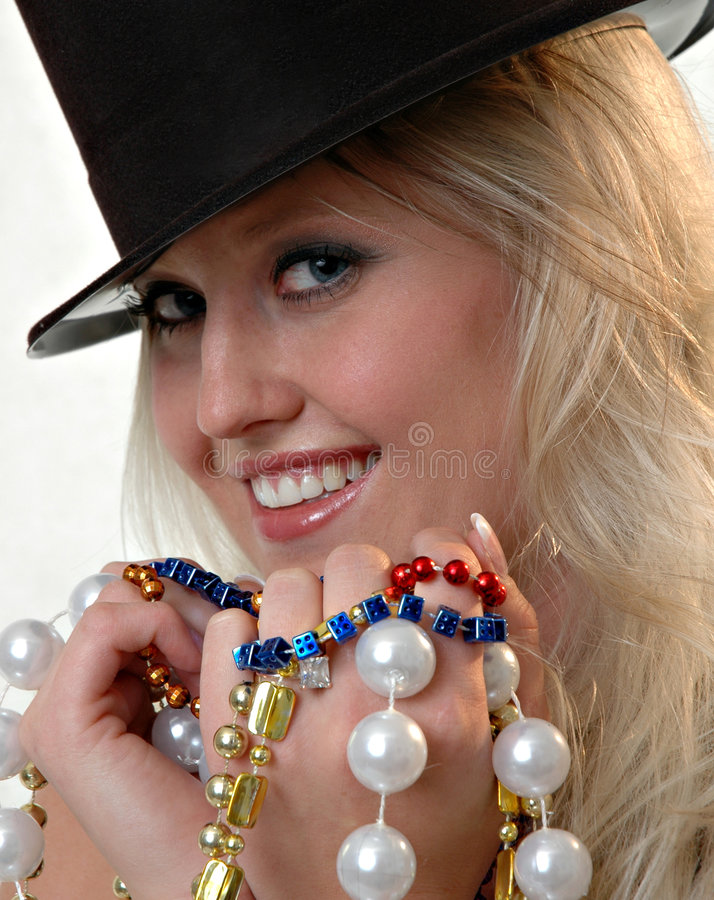 Party les perles image stock