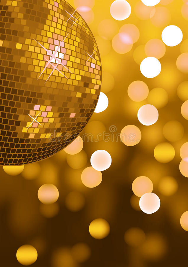 Party lights. Party disco background with glowing lights