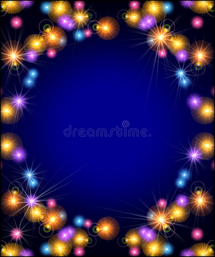 Party lights background royalty free stock photography