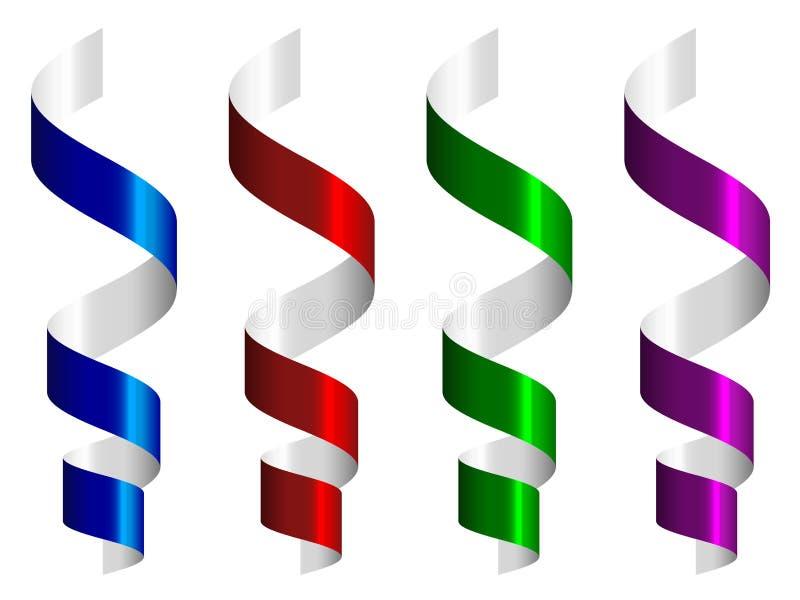 Party los bobinadores de cintas en modo continuo libre illustration