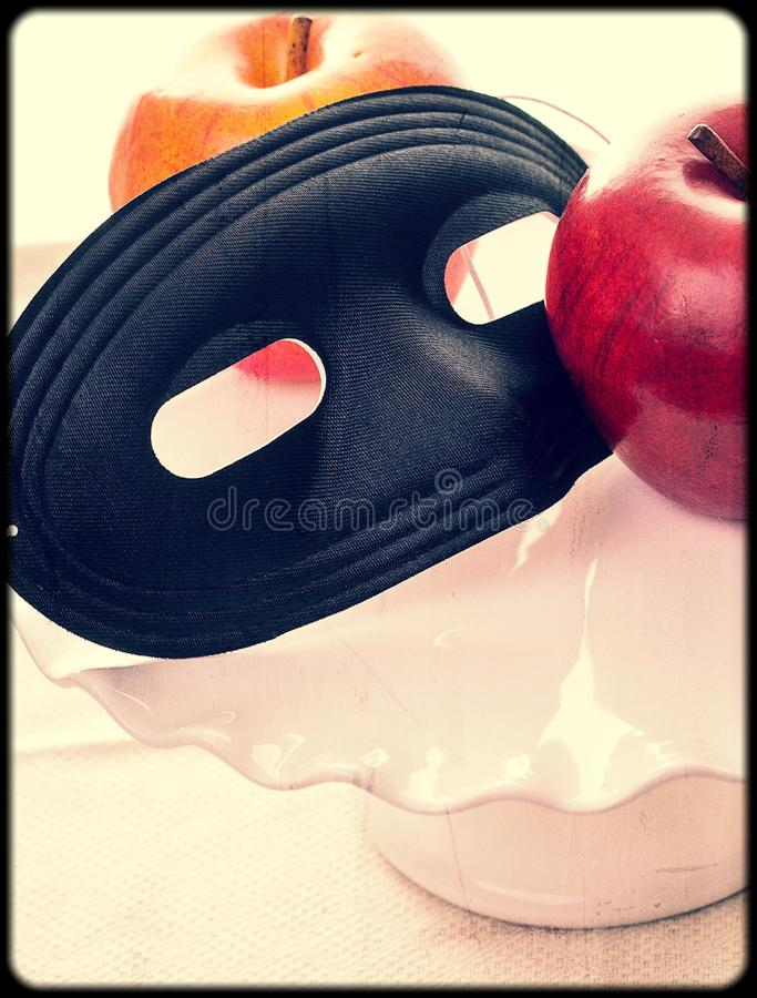 Download Party Mask stock photo. Image of retro, vintage, apple - 27926148