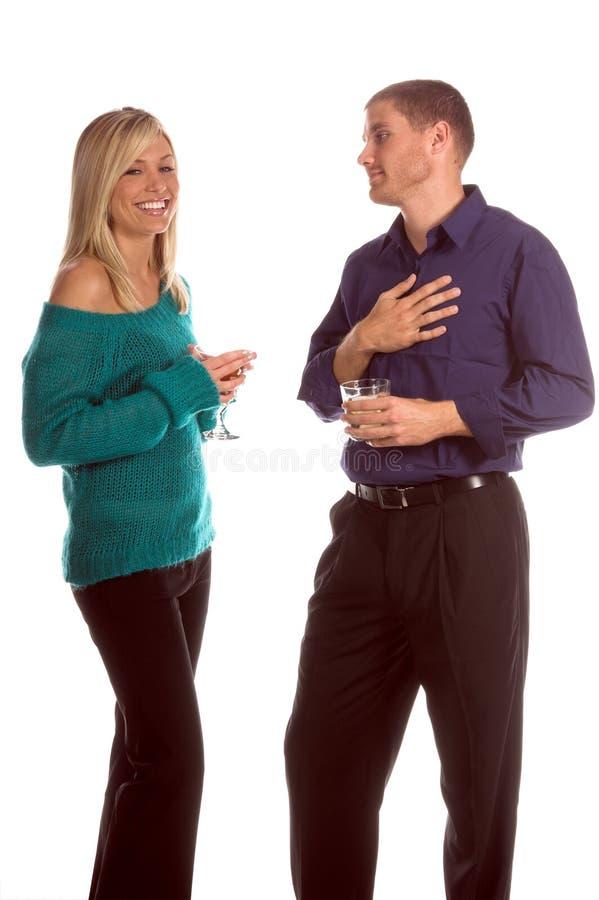 Party-Paare lizenzfreies stockbild