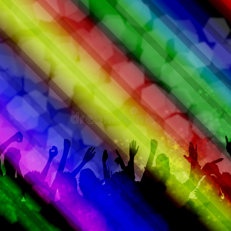 Party People royalty free illustration