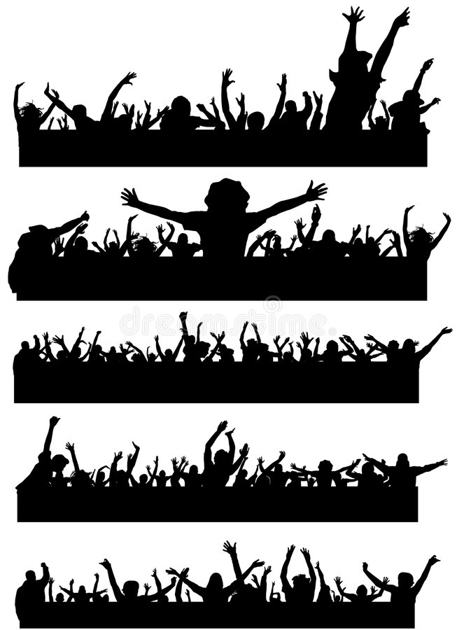 Party people vector royalty free illustration