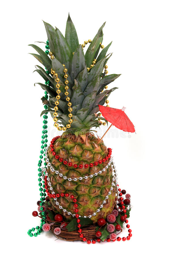 Download Party Pineapple stock image. Image of decoration, beads - 11901163