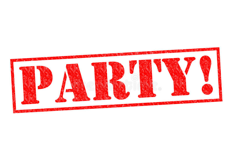 PARTY! stock illustration