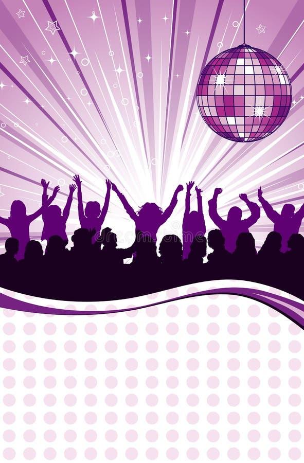 Party-Schablone stock abbildung