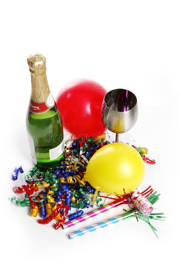 Download Party Setting stock image. Image of garnish, streamers - 1585183