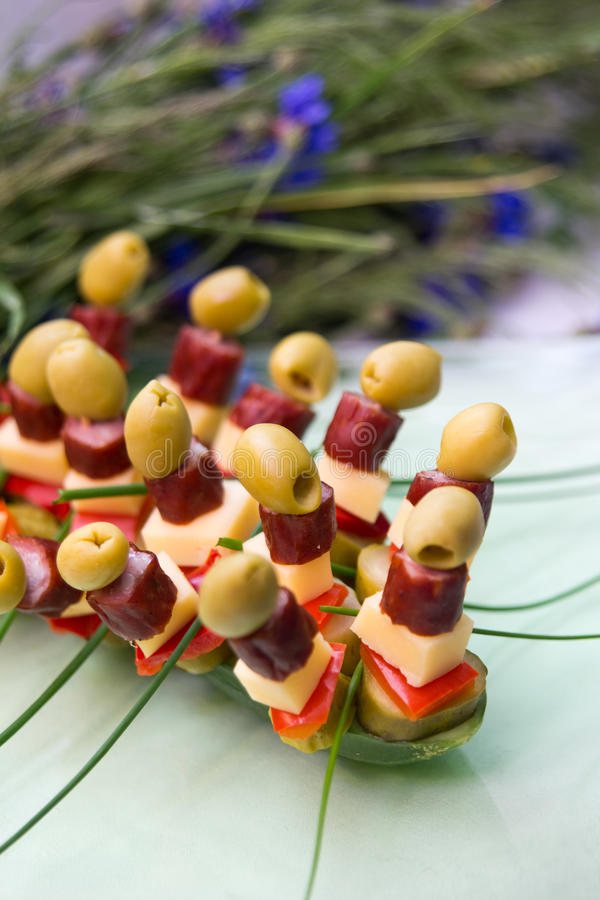 Party Snacks Royalty Free Stock Photos