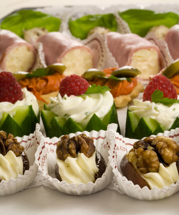Free Party Snacks Royalty Free Stock Photography - 2724247