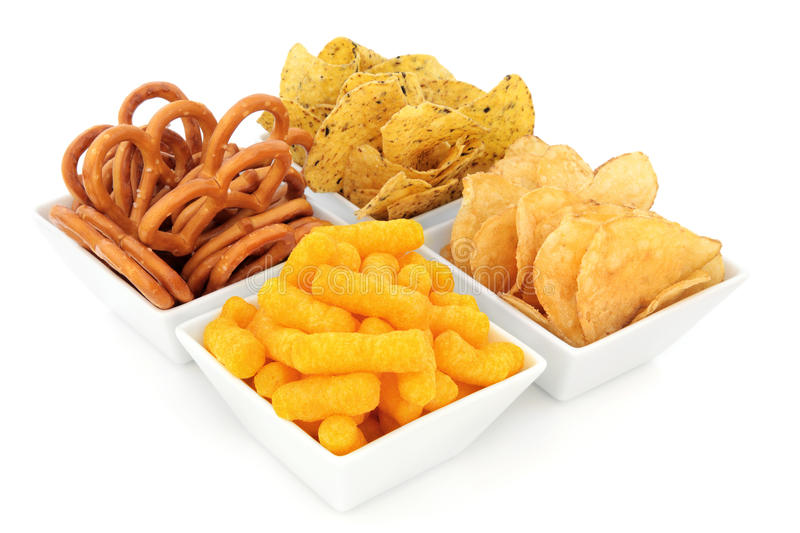 Party Snacks stock photography